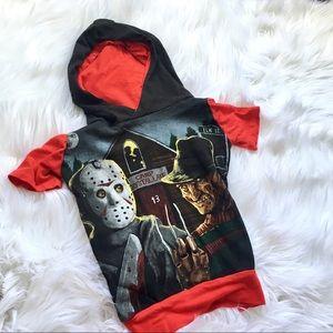 Other - Jason VS Freddy Hooded Shirt
